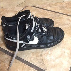 Nike snakeskin sneakers